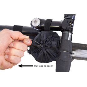 Revelate Designs Mountain Feedbag - Sac porte-bagages - violet/noir
